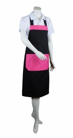 Halterschort speciaal zwart roze